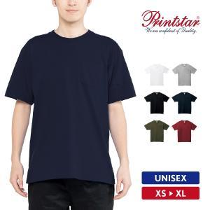 Tシャツ メンズ レディース 半袖 ポケット付き 厚手 無地 Printstar プリントスター 5.6オンス ヘビーウェイトポケットTシャツ|grafit