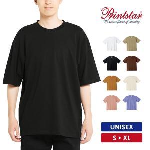 Tシャツ メンズ レディース 半袖 厚手 無地 ビッグシルエット アメカジ ストリート スポーツ おしゃれ 綿100% Printstar プリントスター|grafit