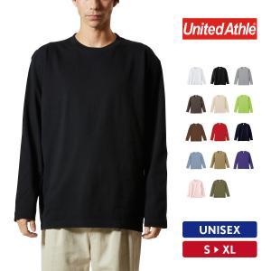 Tシャツ メンズ 長袖 無地 UnitedAthle(ユナイテッドアスレ) ロングスリーブTシャツ 5010-01|grafit