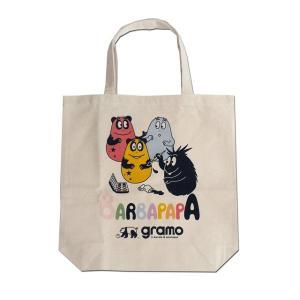 グラモ gramo『seed-paint』バーバパパ BARBAPAPA エコバッグ B-031 Mサイズ|gramo