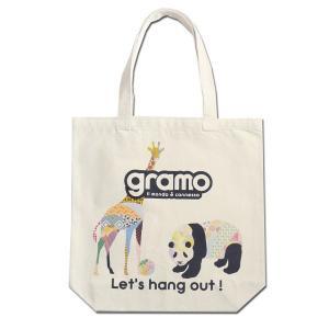 グラモ gramo『seed-pal2 / GIRAFFE(Mサイズ)』エコバッグ B-040|gramo