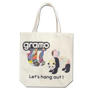 グラモ gramo『seed-pal2 / SLOTH(Mサイズ)』エコバッグ B-040|gramo