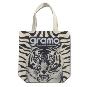 グラモ gramo『seed-roar / TIGER(Mサイズ)』エコバッグ B-041|gramo
