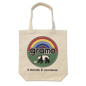 グラモ gramo『nature2(Mサイズ)』エコバッグ B-043|gramo