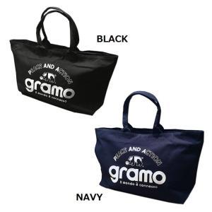 数量限定!! グラモ gramo『大容量キャンバスジップトート』トートバッグ F17-002|gramo