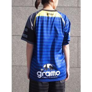 グラモ gramo『sharp』昇華プラクティスシャツ P-018 gramo 04