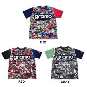 グラモ gramo『KINOKO』昇華プラクティスシャツ P-025 gramo
