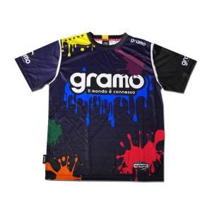 グラモ gramo『splash』昇華プラクティスシャツ P-029 gramo 04