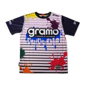 グラモ gramo『splash』昇華プラクティスシャツ P-029 gramo 05