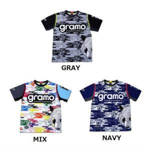 グラモ gramo『foggy』昇華プラクティスシャツ P-034 gramo
