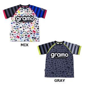 グラモ gramo『EARTH2』昇華プラクティスシャツ P-037|gramo