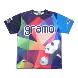 グラモ gramo『polygon』昇華プラクティスシャツ P-041|gramo|11