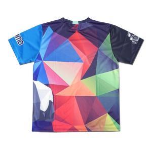 グラモ gramo『polygon』昇華プラクティスシャツ P-041|gramo|12