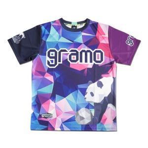グラモ gramo『polygon』昇華プラクティスシャツ P-041|gramo|13