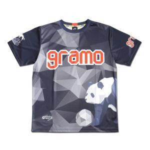 グラモ gramo『polygon』昇華プラクティスシャツ P-041|gramo|15
