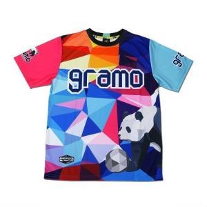 グラモ gramo『polygon』昇華プラクティスシャツ P-041|gramo|03