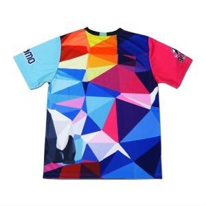 グラモ gramo『polygon』昇華プラクティスシャツ P-041|gramo|04