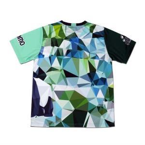 グラモ gramo『polygon』昇華プラクティスシャツ P-041|gramo|06