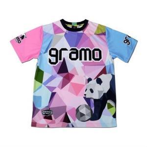 グラモ gramo『polygon』昇華プラクティスシャツ P-041|gramo|07