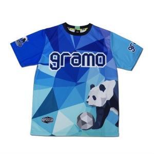 グラモ gramo『polygon』昇華プラクティスシャツ P-041|gramo|09