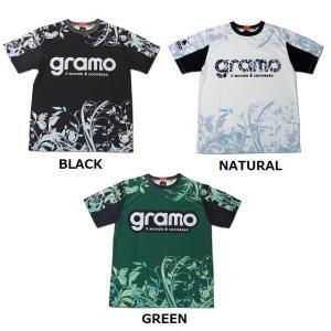 グラモ gramo『garden』昇華プラクティスシャツ P-042 gramo