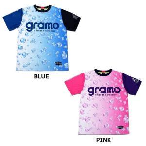 グラモ gramo『sparkling』昇華プラクティスシャツ P-045 gramo