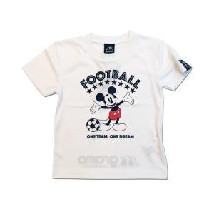 グラモ gramo『ONE TEAM』ミッキーマウス Mickey Mouse プラクティスシャツ P-048 キッズサイズ|gramo|03