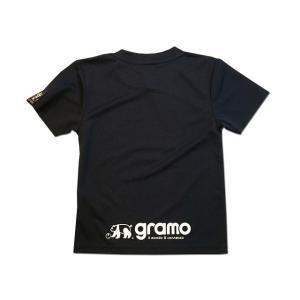 グラモ gramo『ONE TEAM』ミッキーマウス Mickey Mouse プラクティスシャツ P-048 キッズサイズ|gramo|08
