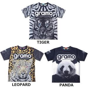グラモ gramo『roar』昇華プラクティスシャツ P-049|gramo