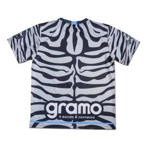 グラモ gramo『roar』昇華プラクティスシャツ P-049|gramo|04