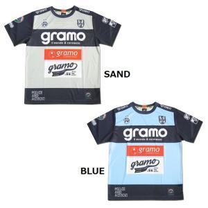 グラモ gramo『STEEL』昇華プラクティスシャツ P-051|gramo