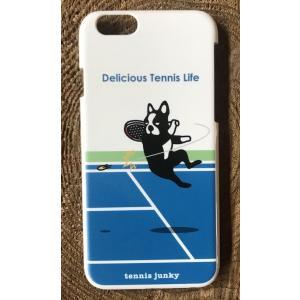 テニスジャンキーiPhone6用ケース エア犬|grancha914
