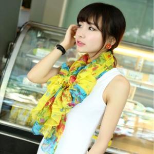 花柄 レディース ネオンカラー スカーフ ストール st3|granclaire|06