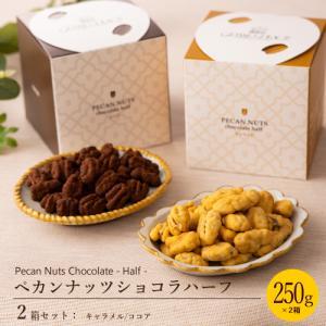人気のペカンナッツショコラに小粒の「トッパーハーフ」という品種を使用したハーフサイズが登場! かわい...
