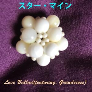 スター・マイン、チャーム、真珠:ゴールデンシャコガイ:ホワイト、8mm