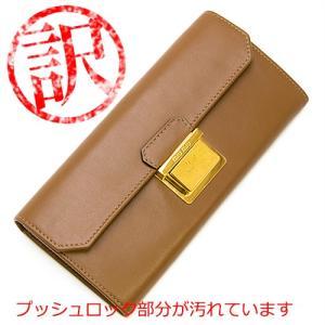 ミュウミュウ MIUMIU 2つ折り長財布 ブラウン 5M1379 L4D F0401 VITELLO TUC CANNELLA|grande-tokyo