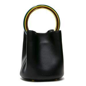 MARNI マルニ ハンドバッグ(2WAY仕様) ブラック PANNIER パニエ SCMPU09T20 LV688 00N99 BLACK grande-tokyo