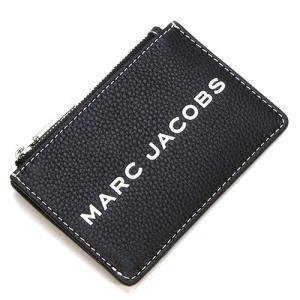 マークジェイコブス ミニ財布(カードケース・キーリング付き) レディース MARC JACOBS The Textured Tag Top Zip Multi Wallet BLACK ブラック M0014870 001 grande-tokyo