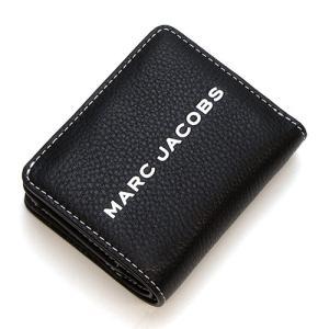 マークジェイコブス 2つ折り財布(小銭入れ付き) レディース MARC JACOBS The Textured Tag Mini Compact Wallet BLACK ブラック M0014982 001 grande-tokyo