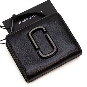 5e9a7b2d70d7 マークジェイコブス MARC JACOBS 2つ折り財布(小銭入れ付き) レディース MARC JACOBS Snapshot DTM Mini  Compact Wallet BLACK ブラック M0014986 001