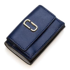 マークジェイコブス MARC JACOBS 3つ折り財布(小銭入れ付き) Snapshot Marc Jacobs Mini Trifold BLUE SEA MULTI ブルーシーマルチ M0014492 455 PD grande-tokyo