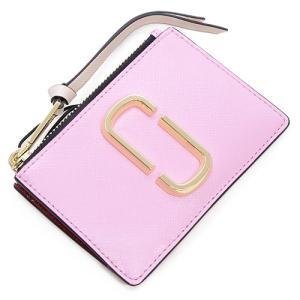マークジェイコブス ミニ財布 レディース MARC JACOBS パウダーピンクマルチ Snapshot Top Zip Multi Wallet M0013359 680 POWDER PINK MULTI grande-tokyo