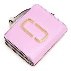 マークジェイコブス 2つ折り財布(小銭入れ付き) レディース MARC JACOBS パウダーピンクマルチ Snapshot Mini Compact Wallet M0013360 680 POWDER PINK MULTI grande-tokyo