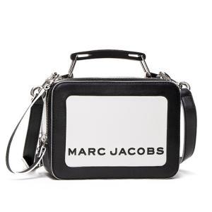 マークジェイコブス ショルダーバッグ レディース MARC JACOBS ブラック/ホワイト The Box Colorblocked The Box 20 M0014506 164 COTTON MULTI grande-tokyo