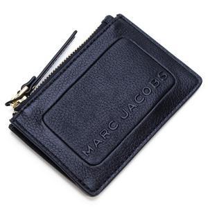 マークジェイコブス ミニ財布 レディース MARC JACOBS ブラック The Textured Box Top Zip Multi Wallet M0015109 001 BLACK grande-tokyo