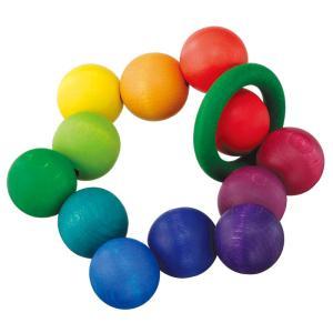 ベリデザイン BELIDESIGN クーゲルターン おもちゃ 木のおもちゃ 木製 出産祝い がらがら おしゃぶり ラトル ベビー grande0606