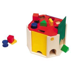 型はめ セレクタ社 クアトリノ 積み木 ブロック 1歳 2歳 3歳 形合わせ  1歳おもちゃ知育玩具|grande0606