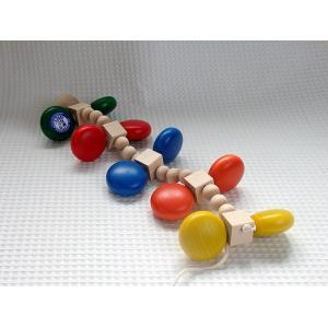 カラーむかで カラームカデ ユシラ社JUSSILA 木のおもちゃ 木製 知育玩具 出産祝い お誕生日 積み木 人気 プルトイ プルトーイ grande0606