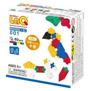 【定形外郵便指定で送料100円】LaQ ベーシック 001/体験パック(平面) ラキュー grande0606