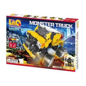 laq ラキュー LaQ ラキュー ハマクロン コンストラクター モンスタートラック 165ピース laq 知育玩具 ブロック|grande0606